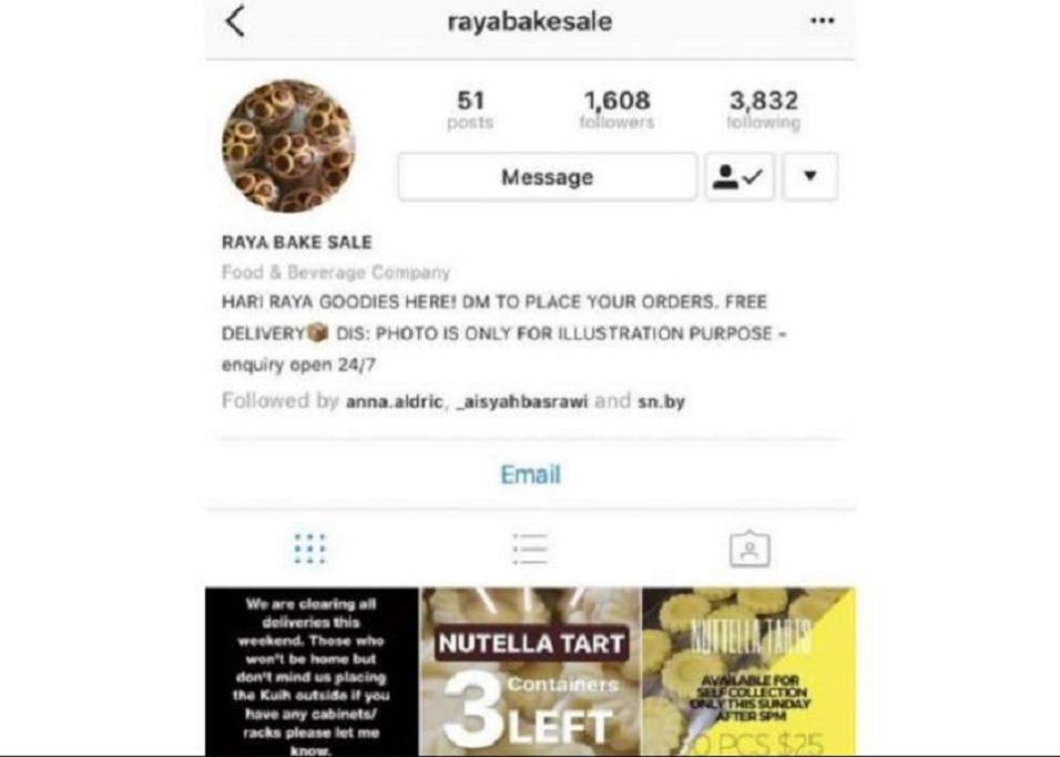 Malay Couple Arrested For Instagram Online Raya Kueh Scam – Rilek1Corner